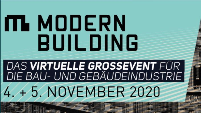 MODERN BUILDING – virtuelle Expo & Konferenz