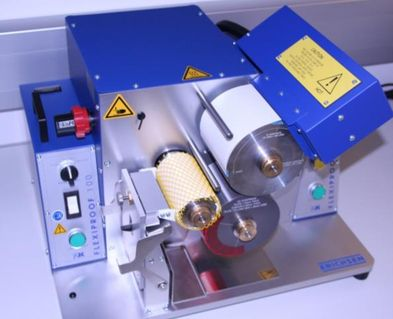 Laboratory equipment flexo printing