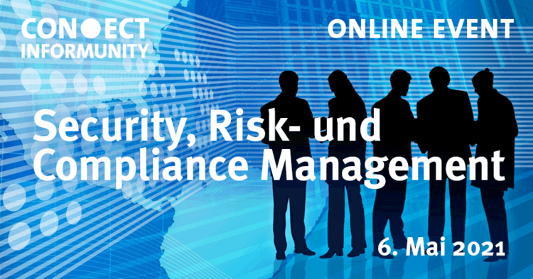 Logo des Events Security, Risk-und Compliance Management