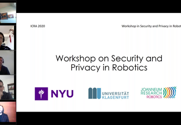 Workshop of Security and Privacy in Robotics